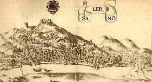 Roma, Biblioteca Angelica, disegni Rocca, Salerno, 1584