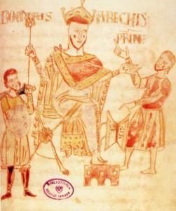 Arechi, codice XII sec., Cava dei Tirreni, Archivio Abbazia SS. Trinità