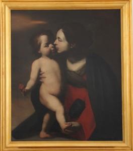 20-cattedrale-M.Stanzione-La-Madonna-della-rosa-olio-su-tela-sec.XVII-B9-archivio-Soprintendenza-BSAE-di-SA-e-AV-