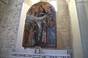 10-San-Pietro-a-corte-I-dipinti-la-Madonna-con-Bambino-santi-e-abate-B4